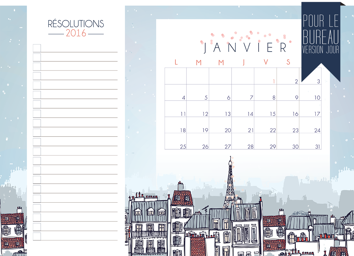 CALENDRIER JANVIER-16-IMPRIMABLE-DAY SIT