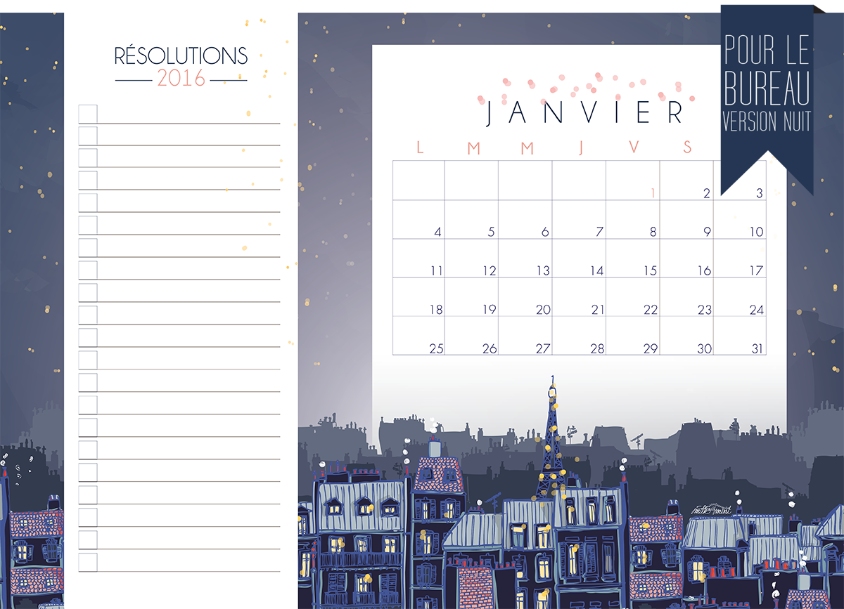 CALENDRIER JANVIER-16-IMPRIMABLE-NIGHT SIT