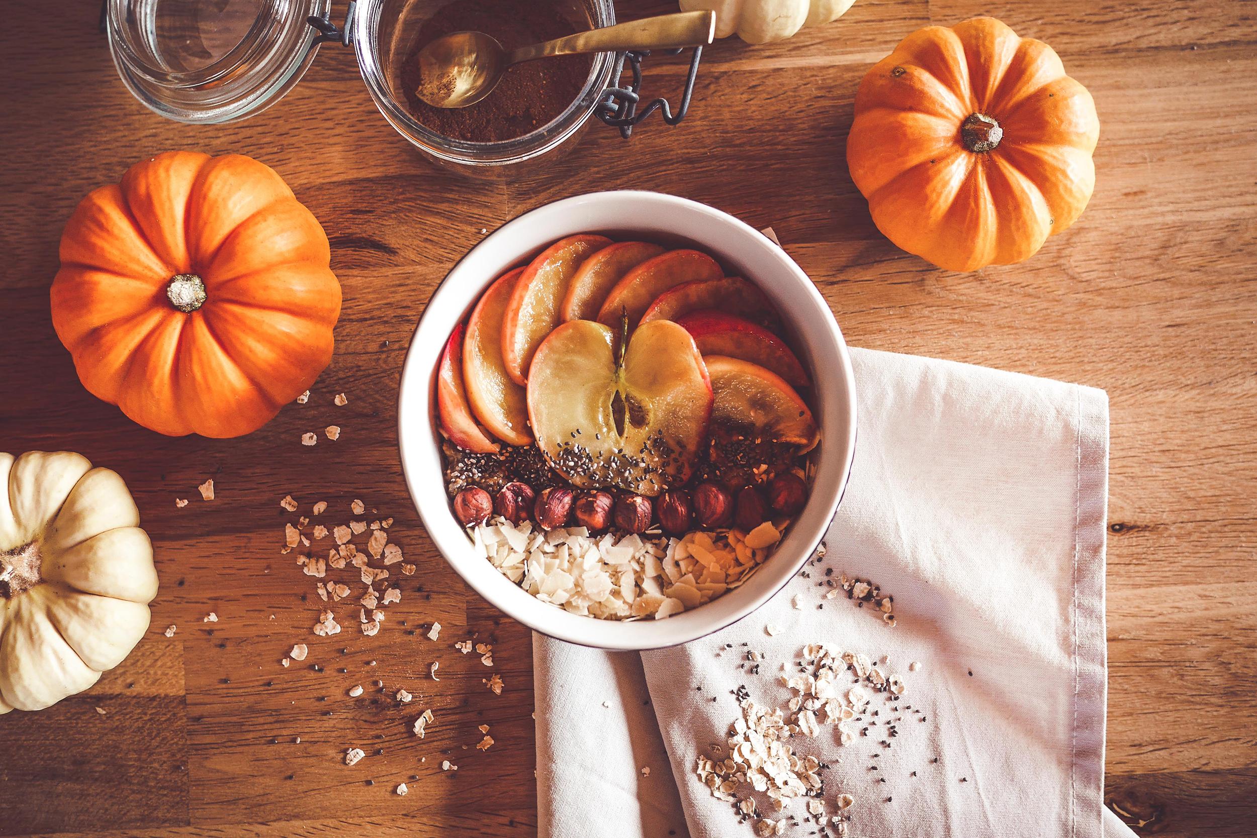 Porridge au café et potiron pour des matins pleins d'énergie!